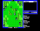 Ultima IV: Quest of the Avatar MSX Fighting in a swamp area