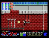 Valis: The Fantasm Soldier MSX Falling down...