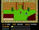 Ys: The Vanished Omens MSX Starting location