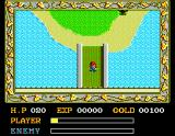 Ys: The Vanished Omens MSX Outside the town
