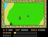 Ys: The Vanished Omens MSX Some pesky monsters attack