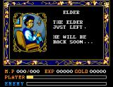 Ys II: Ancient Ys Vanished - The Final Chapter MSX And who are you, Grandma?!..