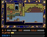 Ys II: Ancient Ys Vanished - The Final Chapter MSX In a basement