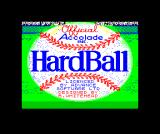 HardBall! ZX Spectrum Loading screen