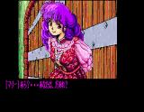 Dragon Knight II MSX The stubborn girl won't let you in