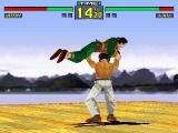 Virtua Fighter Remix Windows Jeffry about to throw Lau