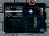 Wing Commander: Secret Ops Windows The program login screen. Upon close inspection, the developers comprise the list of names scrolled through until your persona is located.