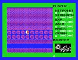 Dragon Slayer MSX Run away, as long as you can!