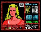 "Xanadu: Dragon Slayer II MSX Want to be more charismatic? Visit this lady! The sign is ""mi"" (Chinese ""mei""), meaning ""attractive"""