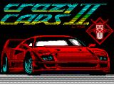 F40 Pursuit Simulator ZX Spectrum Loading screen