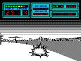 F40 Pursuit Simulator ZX Spectrum Crash
