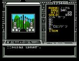 Randar II: Revenge of Death MSX Castle entrance