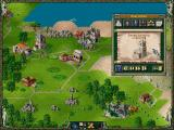 The Settlers II: Veni, Vidi, Vici DOS capturing a building