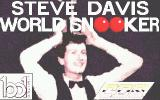 Steve Davis World Snooker Atari ST Loading screen