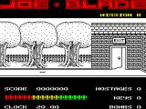 Joe Blade ZX Spectrum Game start