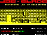 Joe Blade ZX Spectrum Through that first door