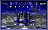 Impossible Mission II Amstrad CPC Title screen