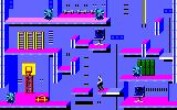 Impossible Mission II Amstrad CPC Exploring one of the many rooms