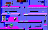 Impossible Mission II Amstrad CPC Located a password to turn off robots!