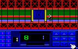 Impossible Mission II Amstrad CPC Hmm, need more clues before I can break into the next tower