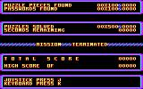 Impossible Mission Amstrad CPC The starting and mission terminated screen