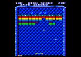 Arkanoid Amstrad CPC Gameplay on the first level