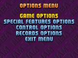 NBA Jam Tournament Edition DOS Options Menu