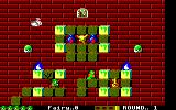 Solomon's Key Amstrad CPC Gameplay on the first level