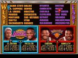 NBA Jam Tournament Edition DOS Team selection, Bill joins the Lakers
