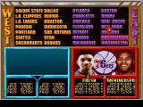 NBA Jam Tournament Edition DOS The Fresh Prince comes from Philly