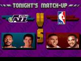 NBA Jam Tournament Edition DOS Tonight's Matchup: Veterans vs Rookies