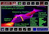 Star Control Genesis Ship databank entry for the Ilwrath Avenger, a Hierarchy vessel.