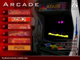 Atari Anniversary Edition Windows Main menu for Volume 1.
