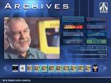 Atari: Anniversary Edition Windows Volume 1 archives, viewing an interview with Nolan Bushnell.