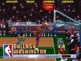 NBA Jam Tournament Edition DOS Webber grabs a rebound