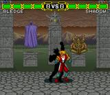 Doomsday Warrior SNES Shadow Boxing