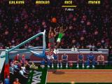 NBA Jam Tournament Edition DOS Glen Rice goes for 3