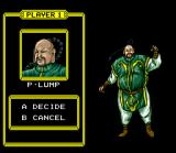 Doomsday Warrior SNES Character Selection
