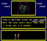 Doomsday Warrior SNES Give up? screen