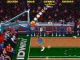 NBA Jam Tournament Edition DOS Burning Ball