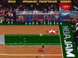 NBA Jam Tournament Edition DOS You can shrink your players