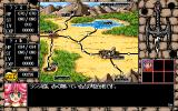 Rance III: Leazas Kanraku Windows 3.x Viewing the world map