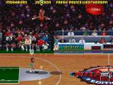 NBA Jam Tournament Edition DOS Clarence Weatherspoon is flying