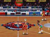 NBA Jam Tournament Edition DOS Monica is my favourite cheerleader