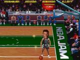 NBA Jam Tournament Edition DOS The admiral has a big head