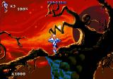 Earthworm Jim 1 & 2: The Whole Can 'O Worms DOS In a hurry (shot from the demo version)