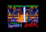 Alien Storm Amstrad CPC Use a laser beam in shootout scenes to kill the aliens