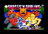 Ghosts 'N Goblins Amstrad CPC Title