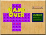 Power Pegged Windows Game Over