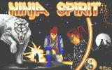 Ninja Spirit Atari ST Loading screen